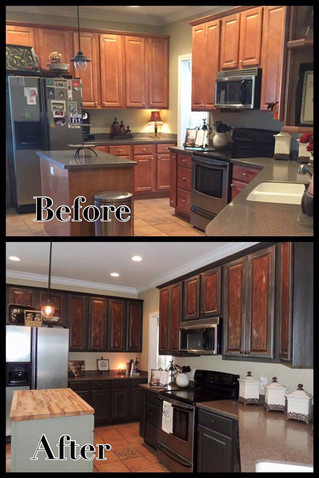 Should You Paint Or Stain Your Cabinets Dixie Belle