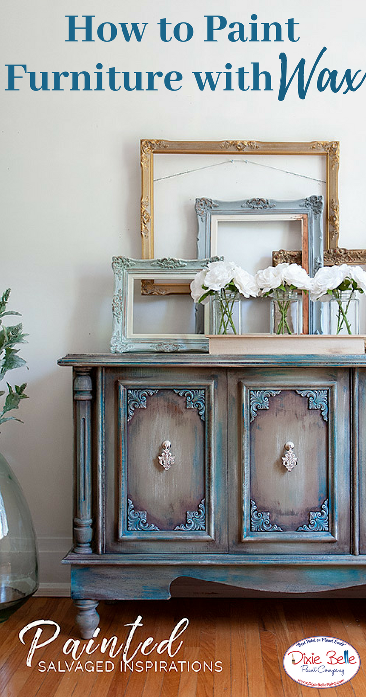 How To Paint Furniture With Best Dang Wax Dixie Belle
