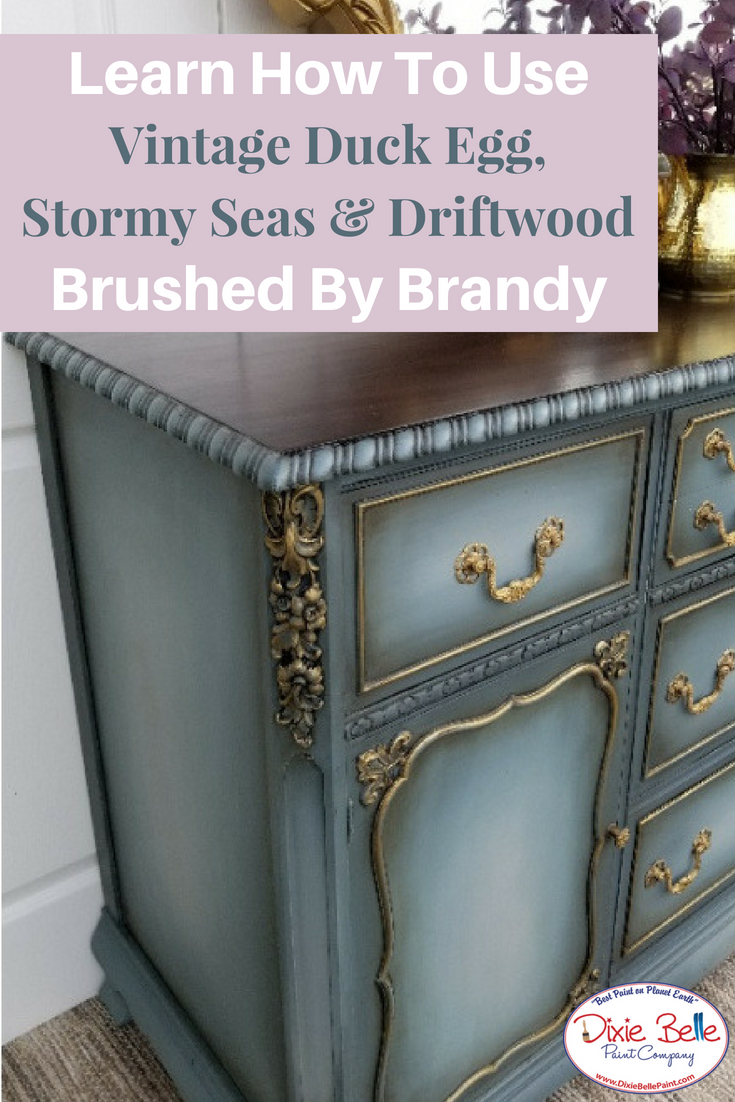 How To Use Vintage Duck Egg Stormy Seas And Driftwood